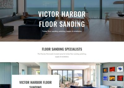 Website for Victor Harbor timber flooring