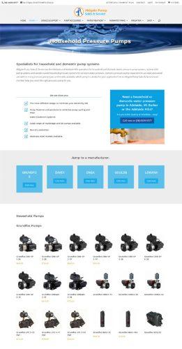 website design aldgate pumps adelaide