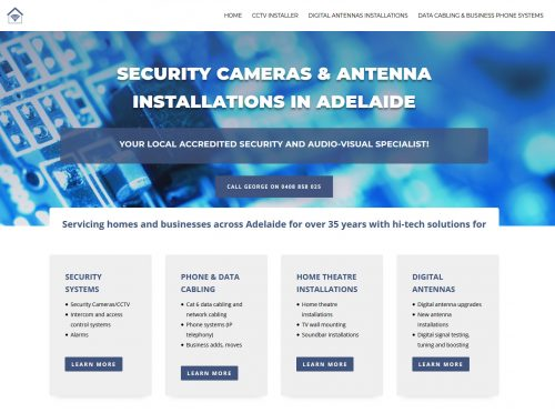 website design adelaide antennas