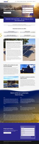 website design for electrician