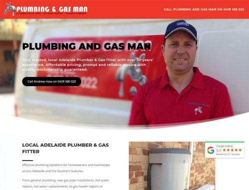 plumber gas website adelaide