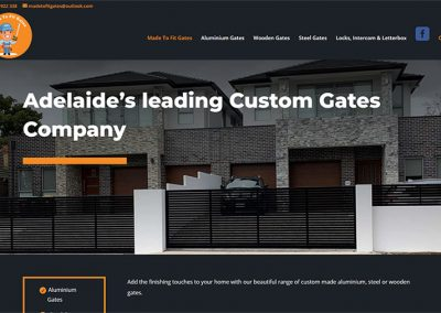 Website for business in Lonsdale, Adelaide