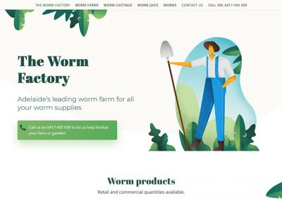 Website package for garden products