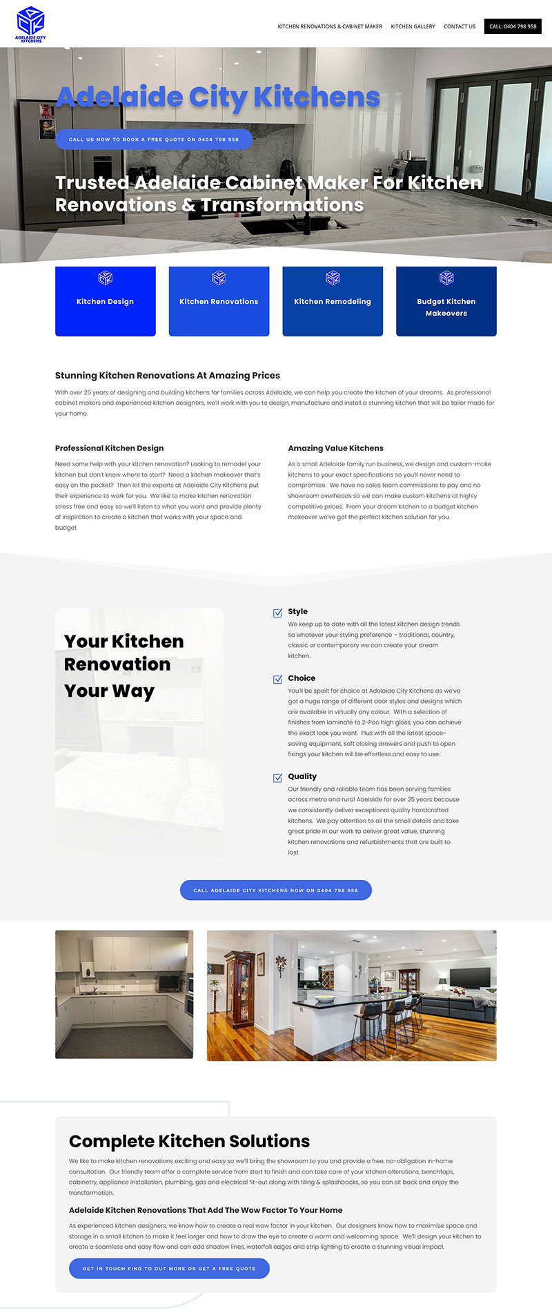 kitchen renovation business in adelaide