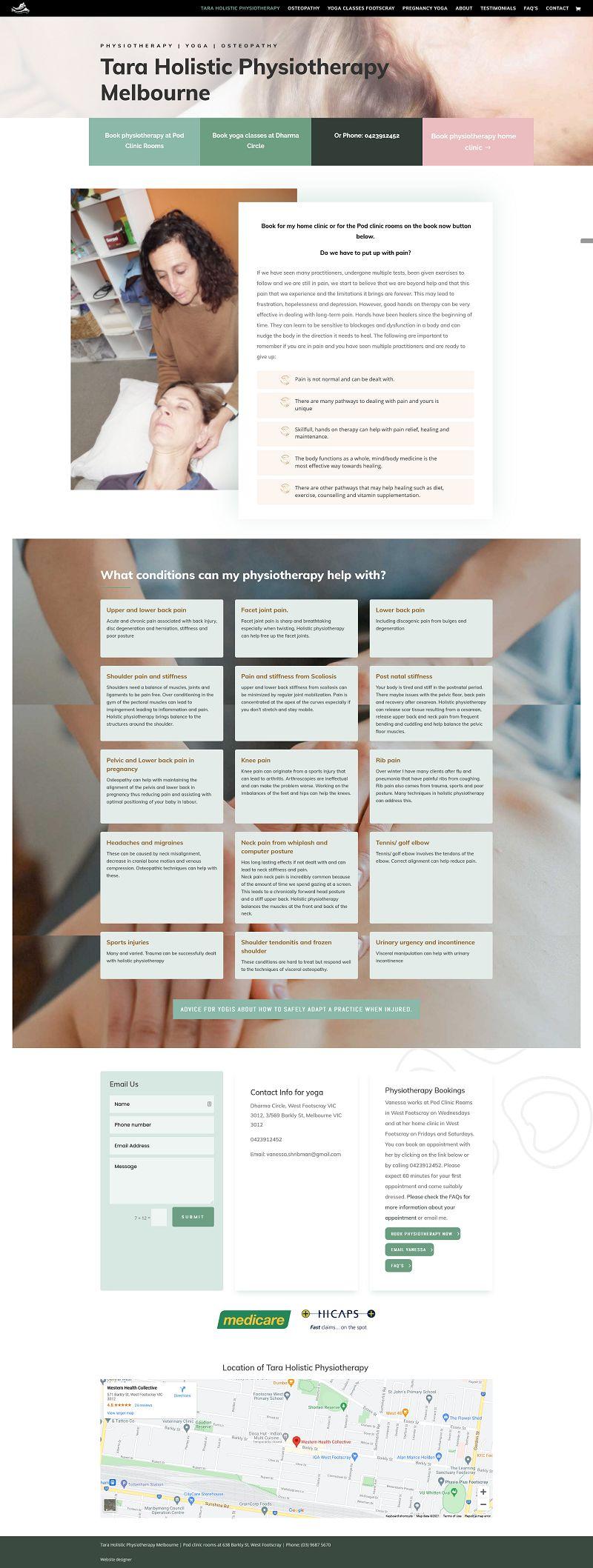 rebuild website in WordPress and Divi