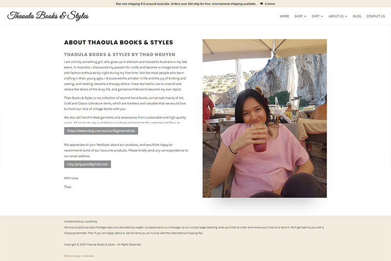 ecommerce website designer adelaide