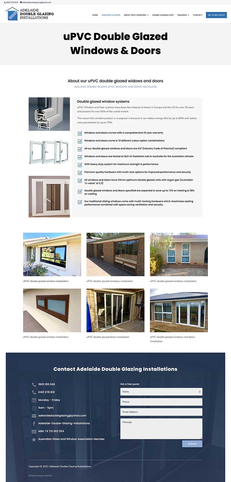 website design in adelaide website company