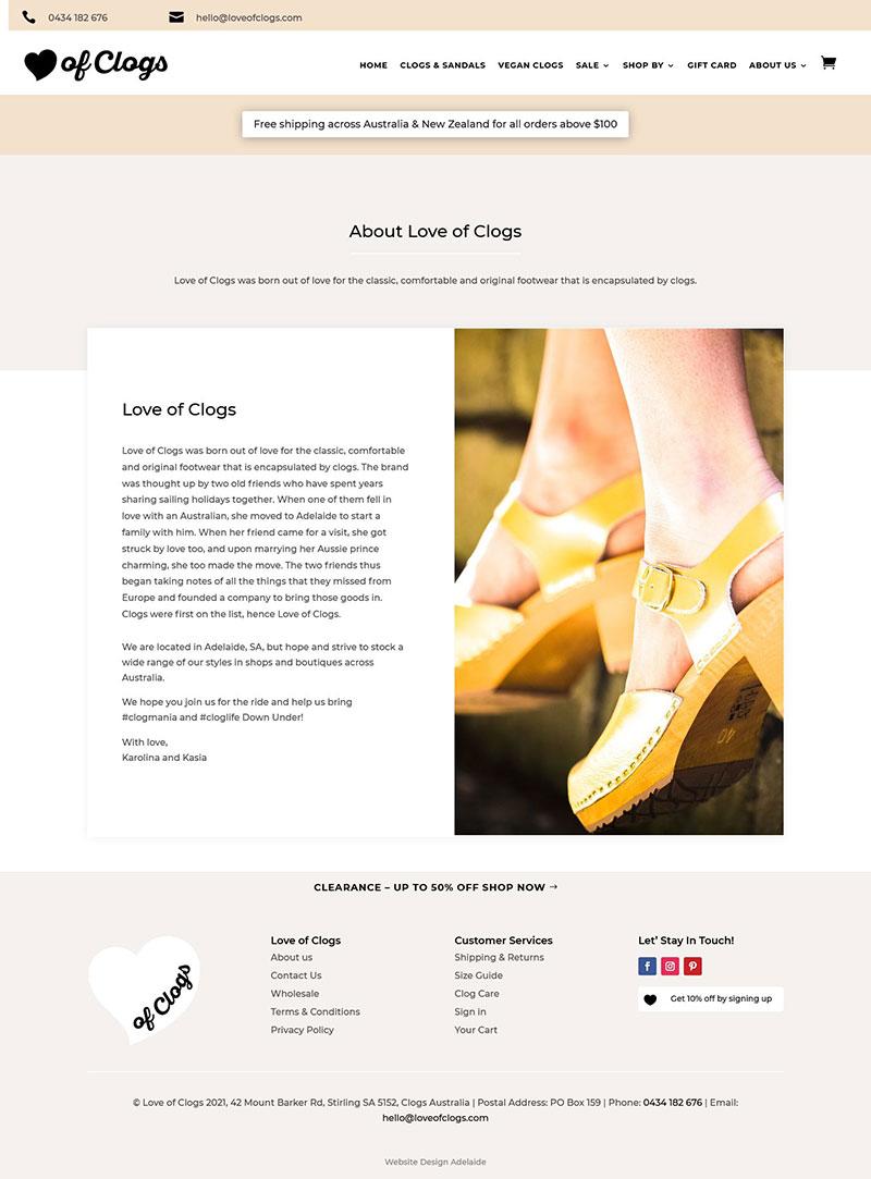 ecommerce website design in adelaide