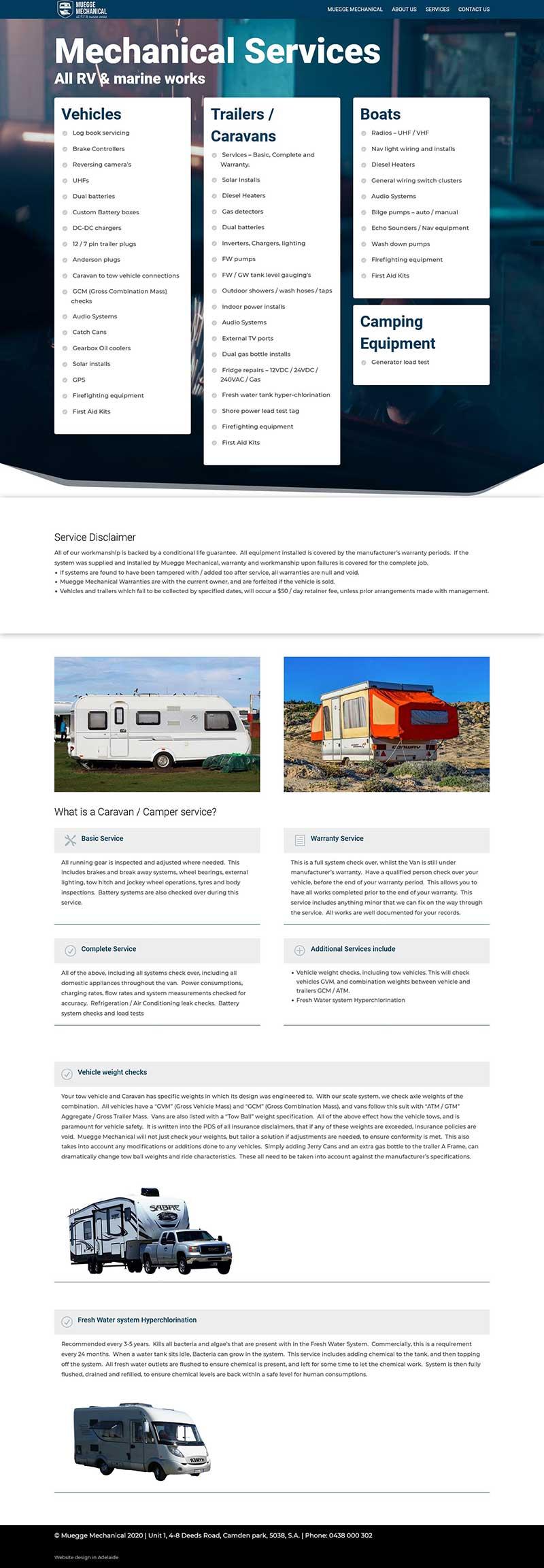 website design adelaide small business wordpress