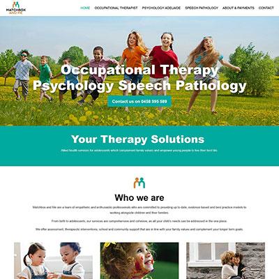 Website Occupational Therapy Psychology Speech Pathology